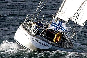 Swan purjehtii